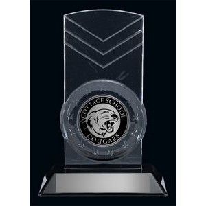 "Krystal 7"" Snap-In Acrylic Clear Award"