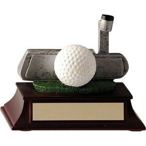 4 Putter & Ball Trophy