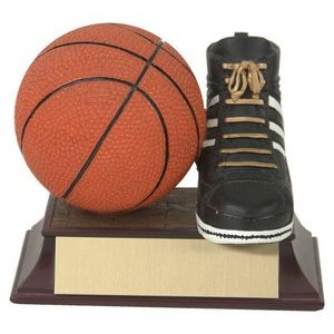 Basketball And Shoe Trophy