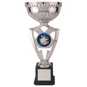 15 Victory Cup 2 Bowling, Custom Disc Holder Trophy