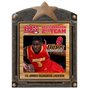 3.5x4.25 Generic Legends Of Fame Basketball Plaque