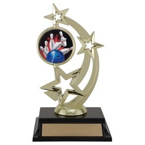 7 Spinner 2 Bowling, Custom Disc Holder Trophy