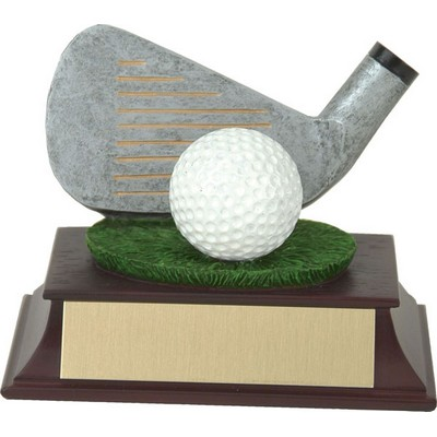 4 Iron & Ball Trophy