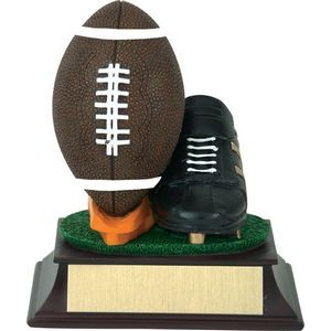 Football And Shoe Trophy
