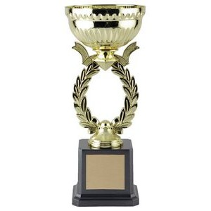 9.75 Bowling Wreath Cup Trophy
