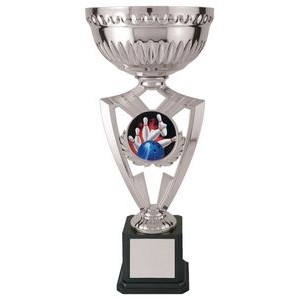 12.25 Victory Cup 2 Bowling, Custom Disc Holder Trophy
